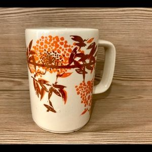 Other - Vintage - Mug with brown and orange graphic